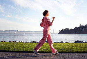 power walk - Copyright – Stock Photo / Register Mark
