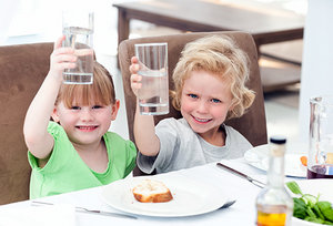 kids with soda - Copyright – Stock Photo / Register Mark