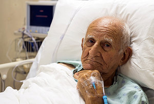 hospital patient - Copyright – Stock Photo / Register Mark