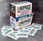 Biofreeze Single Use Application - Copyright – Stock Photo / Register Mark