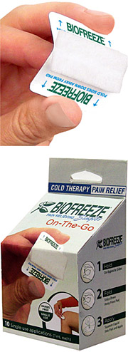 Biofreeze Pain Relieving Singles - Copyright – Stock Photo / Register Mark