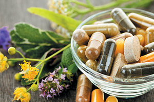 natural supplements herbs - Copyright – Stock Photo / Register Mark