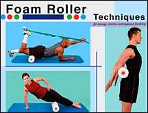 Foam Roller Techniques - Copyright – Stock Photo / Register Mark