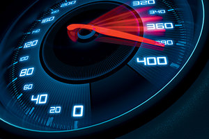 acceleration - Copyright – Stock Photo / Register Mark