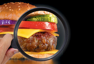 hamburger - Copyright – Stock Photo / Register Mark