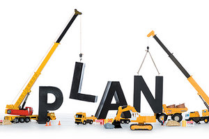 building a plan - Copyright – Stock Photo / Register Mark