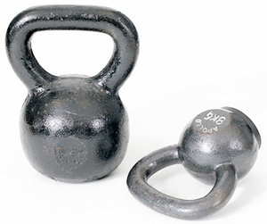Kettlebells - Copyright – Stock Photo / Register Mark
