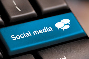 social media - Copyright – Stock Photo / Register Mark