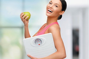 weight loss scale - Copyright – Stock Photo / Register Mark