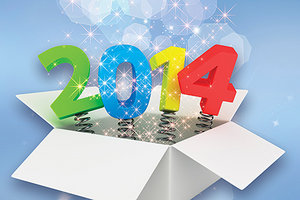 year 2014 - Copyright – Stock Photo / Register Mark